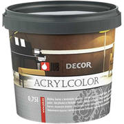 Vopsea decorativa Decor Acrylcolor 0.75 L - Gold